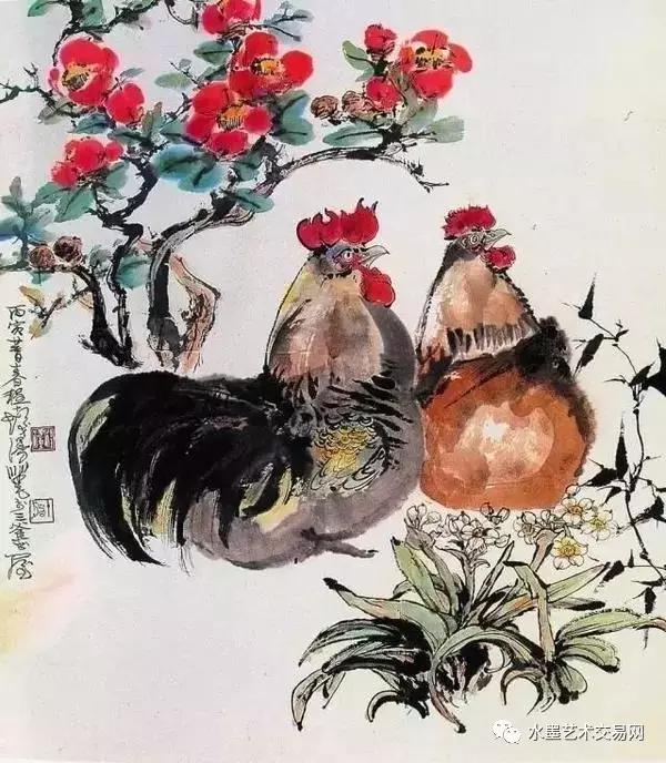 丁酉鸡年,赏中国历代名家画鸡_老公_腾讯网穿情趣内衣服侍文化图片