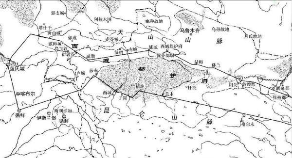 张骞两次出使西域,为何走了不同的路线?