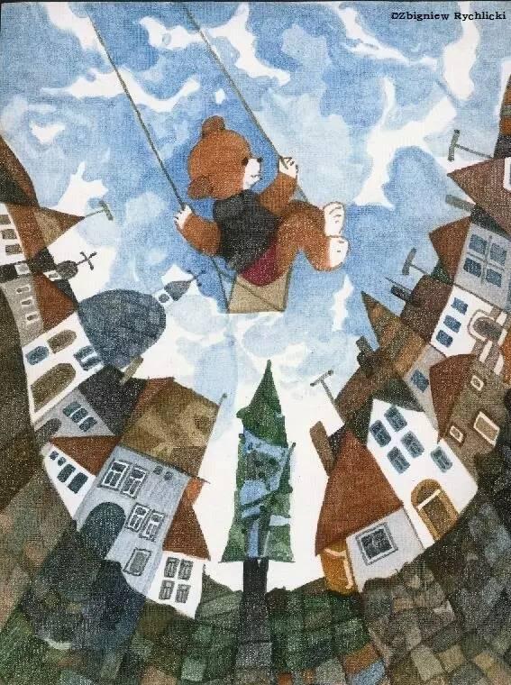 这个展览集结了全世界五十年来最优秀的儿童画