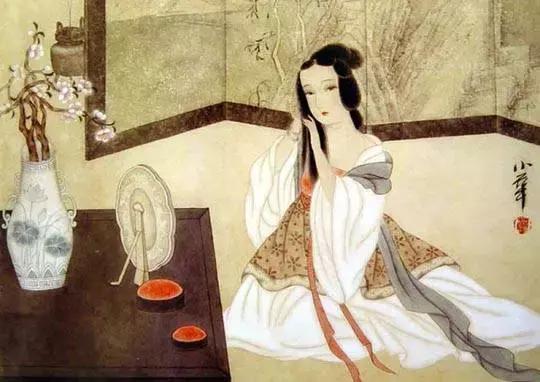 古代男子爱口红,白居易和杜甫能享受皇帝御赐的