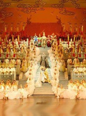 普契尼歌剧《图兰朵》 中国公主的爱情故事