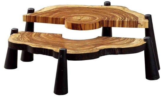 丹麦与中国设计师共同讲述餐厅与皮草的木头菜谱故事设计素材图片