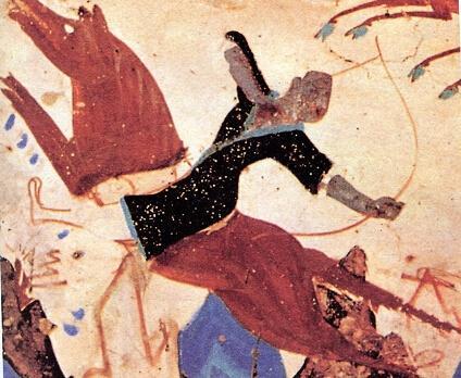 """""""看拳"""" 一位武术家看敦煌壁画"""