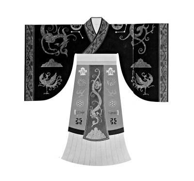 战国末期至秦朝的服饰是这样的吗?