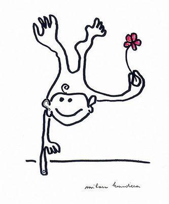 米兰 昆德拉近期漫画作品 组图