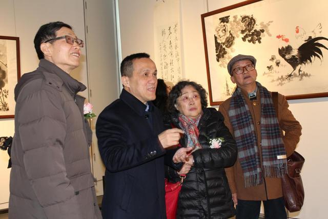 墨语初心—2017蔡茂友水墨作品展在苏州举行