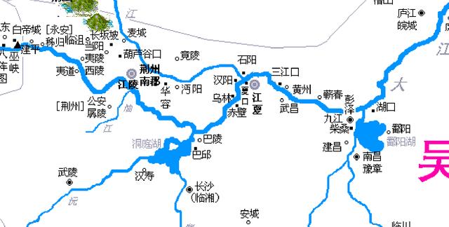 三国赤壁之战地图