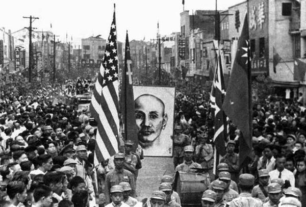 70年前的今日,那时候才叫军民同庆! - ★  牧笛  ★ - ★★★纪念抗战胜利70周年
