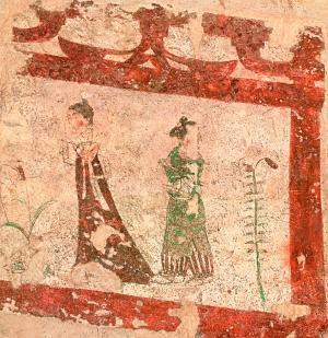 古壁丹青尚有文