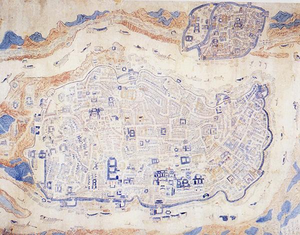 中国古代城市都是什么形状