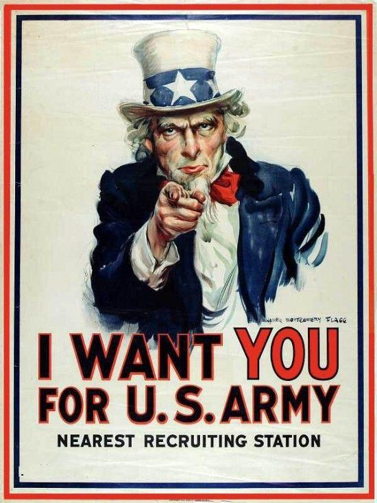 �9�e������9�����i�_《i want you for u.s. army》海报
