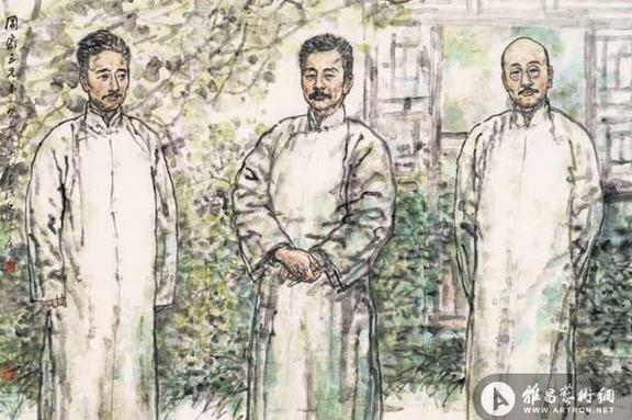 """""""重返单纯""""吴山明中国画艺术展"""