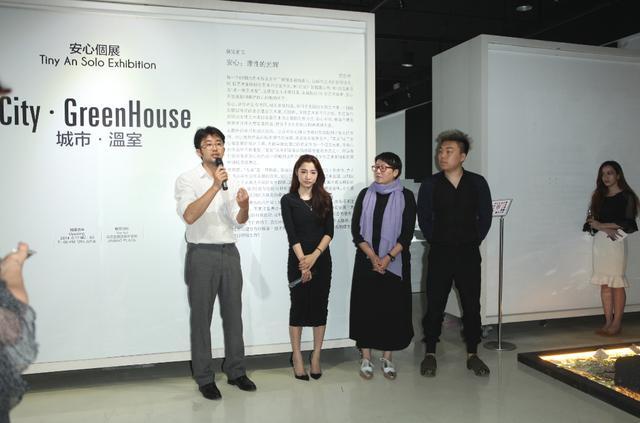 《城市·温室》展开幕 一朵玫瑰诠释装置艺术