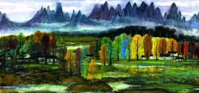 赏秋:看林风眠吴冠中笔下的秋色