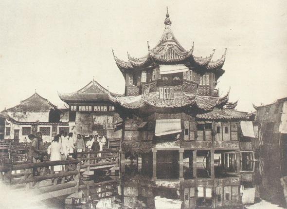 上海豫园道光年间楹联