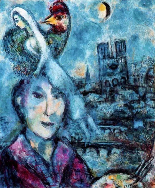 夏加尔:艺术源于完整的自我