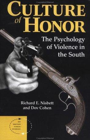 因为重视个人荣誉,美国南部要比北部更暴力?