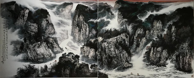 他从黄山来——记当代著名中国山水画家程海鹰
