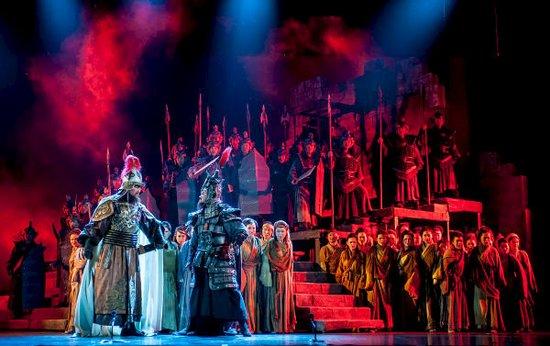 歌剧《钓鱼城》:血腥成为点 生命成为线