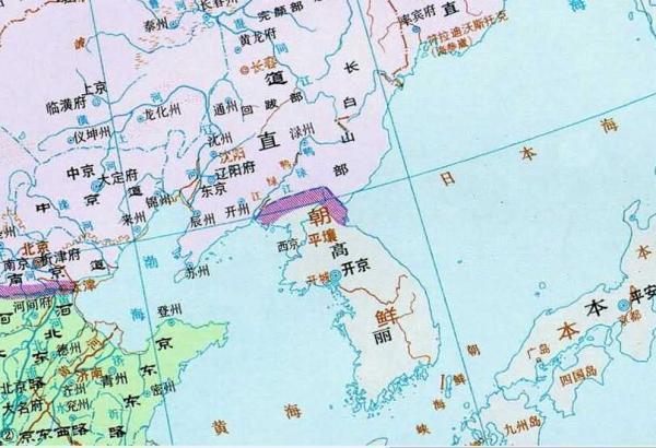 高丽历史地图(1111年)