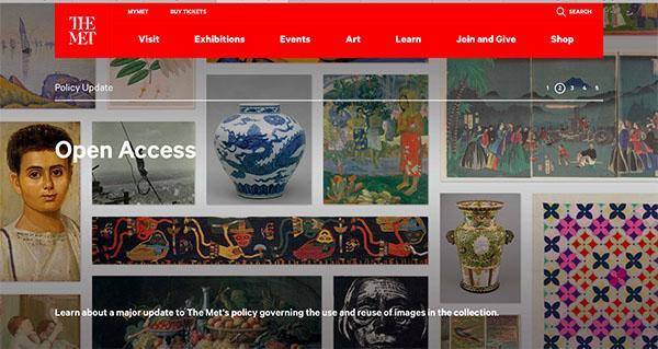 纽约大都会博物馆开放37万余张藏品高清图