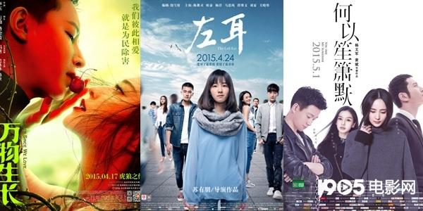 2015热门ip电影海报 (图片来自网络)