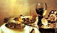 中外文学作品中的美食描写对比