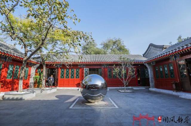中国历史文化街区里的胡同博物馆今天正式开馆