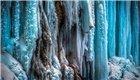 冰瀑奇景:场面梦幻