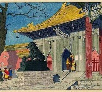 """""""外国木版画里的中国竟然这么美"""""""