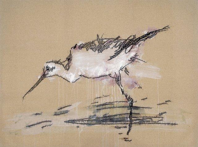 图片来自叶永青作品《画鸟》图片