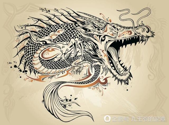 《山海经》古人如何看有龙字的动物呢?奇兽龙鱼