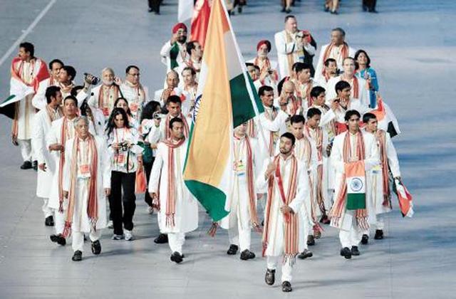 为什么印度不和中国比奖牌