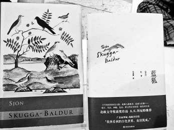 冰岛诗人松:我的作品是文字在纸上的恋爱