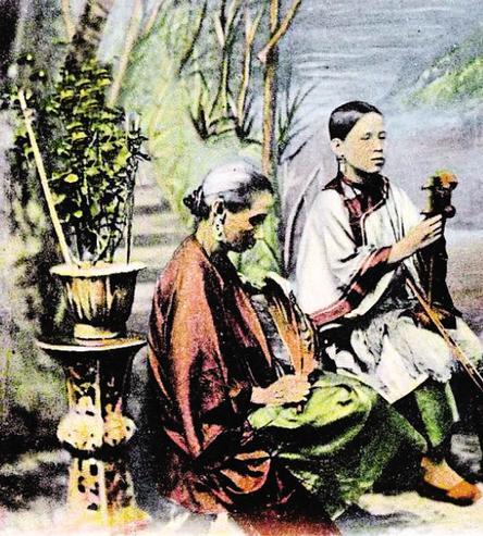 盲女卖唱:岭南曲艺背后的功臣
