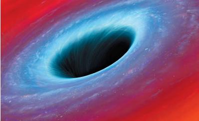 物理黑洞手抄报