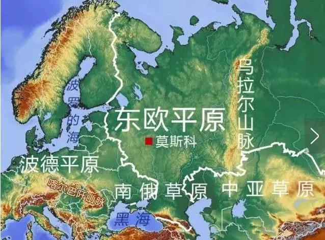 东欧少女挑战超级大黑吊_俄国东欧地形图,浩瀚的欧亚大平原既无阻止外来的自然障碍,也无遏制向
