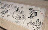 戏曲人物画如何变形:变得自然有趣,借鉴传统与民间