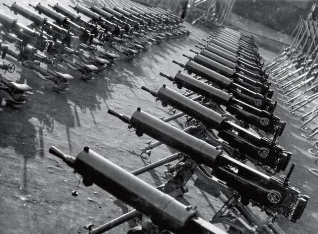 抗战前中国的军事工业到底怎么样?