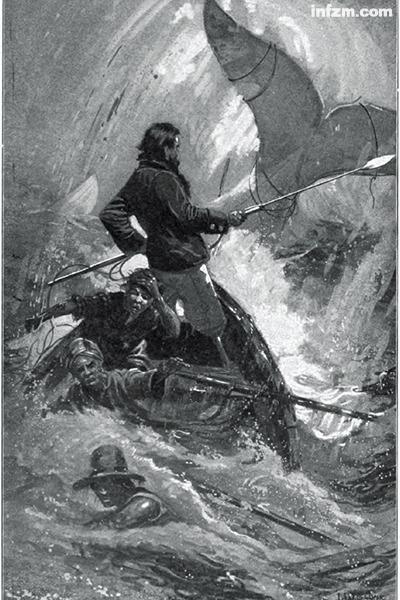 抹香鲸的报复:美国埃塞克斯号捕鲸船海难纪实