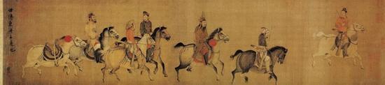 契丹王子用自画像为自己哀悼