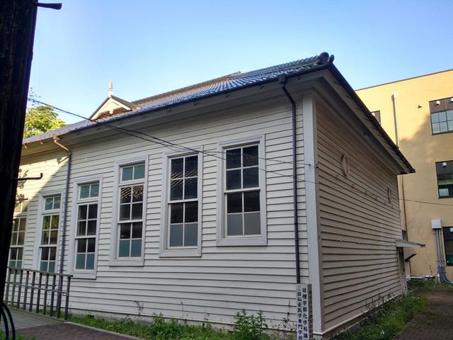 旧仙台医学专门学校旧理学部化学教室,鲁迅先生曾在此学习,1904年—(作者供图)