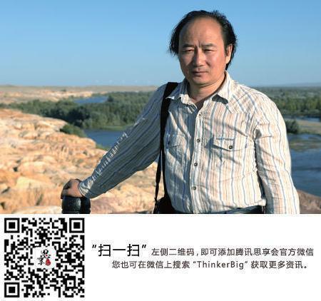 """刘亮程:作家都是见过""""鬼""""的人"""