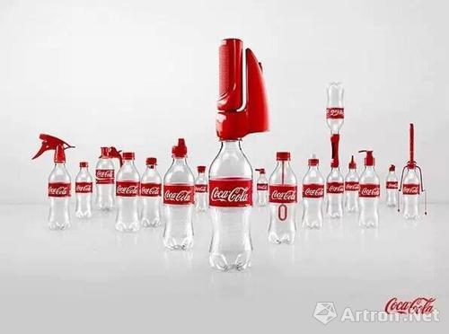经过设计师们的创意,可口可乐为人们免费提供16种功能不同的瓶盖,只需