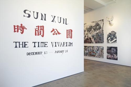 80后艺术家孙逊在美个展获好评