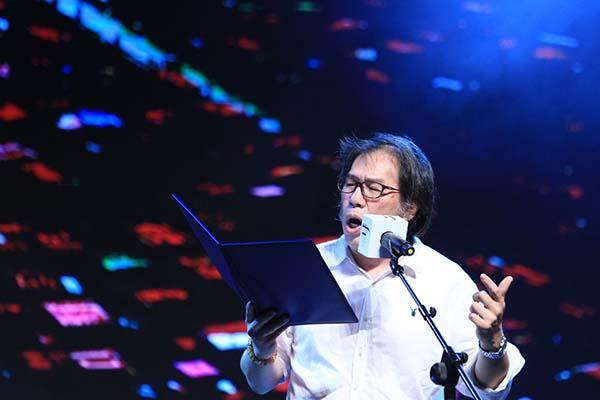 今年的上海国际诗歌之夜,诗人们有点high