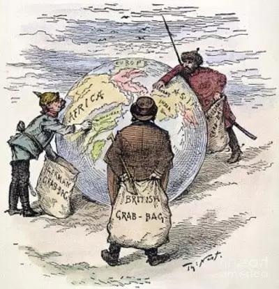 梅然:列强抢夺殖民地主要是抢原料争市场么?