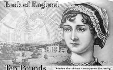 那些出现在货币上的女作家们