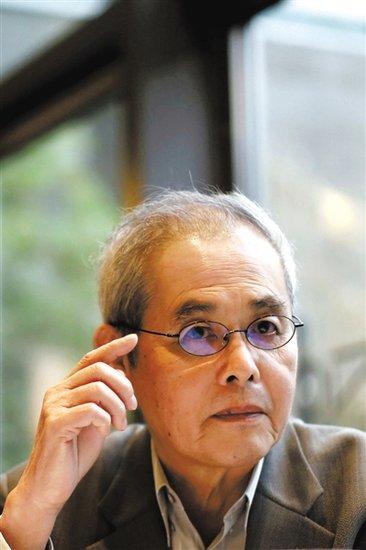 台湾著名诗人及散文作家杨牧.新京报记者 王叔坤 摄图片
