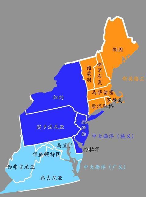 美国人口最少的州_美国人口最少的十个州,还有几十万人的,但个个富得流油